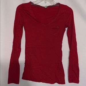 GUESS Hot Pink Long Sleeve Size XS